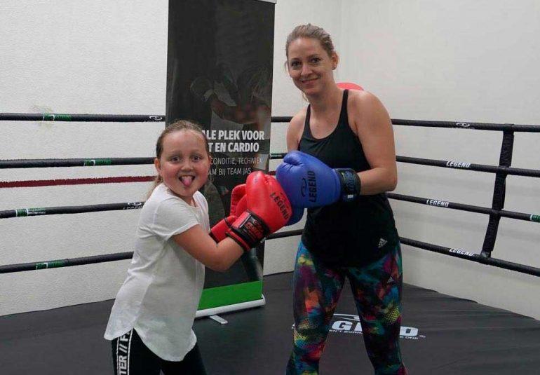 Ouder Kind Kickboksen Sportschool Ockenburgh Den Haag